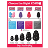 Kong X-treme gumijasta igrača - small