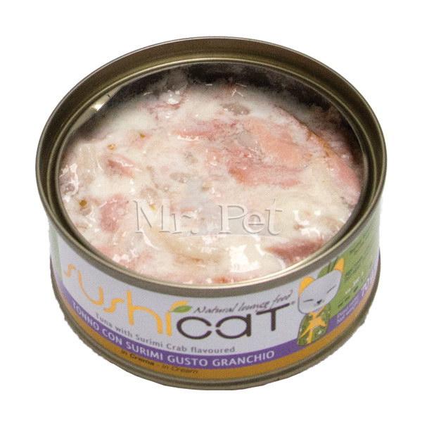 Sushi Cat – tuna in surimi v smetanovi omaki – 70 g