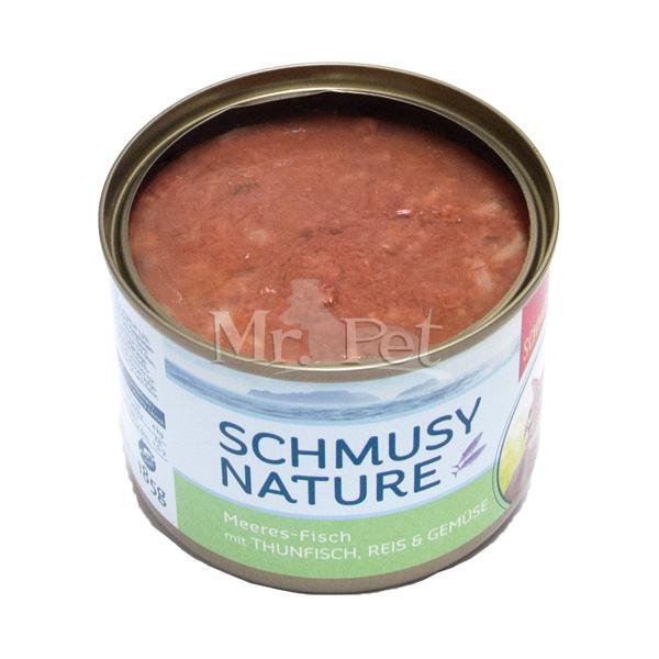 Schmusy Nature - tuna, riž in zelenjava - 185 g