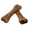 4Pet - kosti iz goveje kože, polnjene z vampi - 15 cm