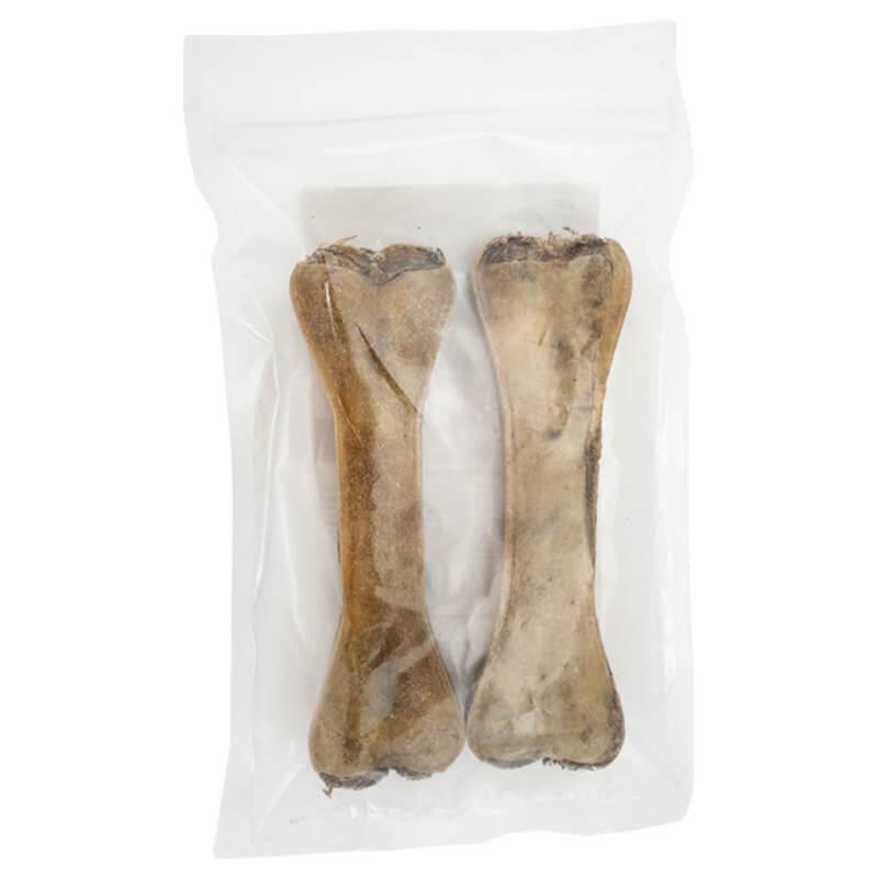 4Pet - kosti iz goveje kože, polnjene z vampi - 20 cm