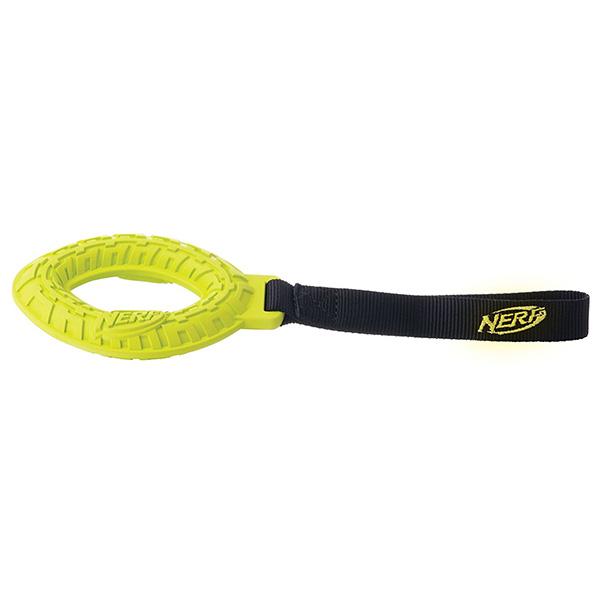 Nerf Tire Glide Tug, igrača za vlečenje, zelena / modra - 27,9 cm