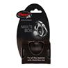 Flexi Multibox škatla za priboljške in vrečke, Vario/Classic, črn