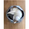 Beeztees ležišče za mačke gnezdo, siva - 43,5 cm