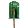 Bamboo krtača ravne igle z bunkicami + žima, L