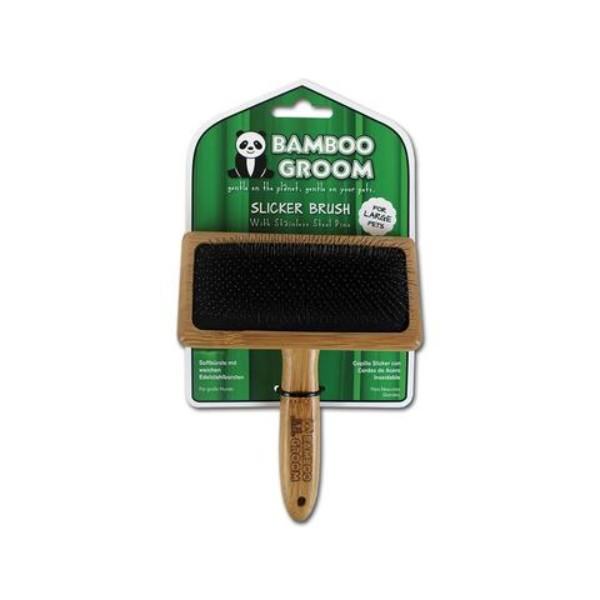 Bamboo krtača krive igle, L