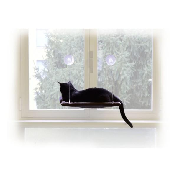 United Pets ležišče s priseski za steklo Cat View - 37 x 47 cm