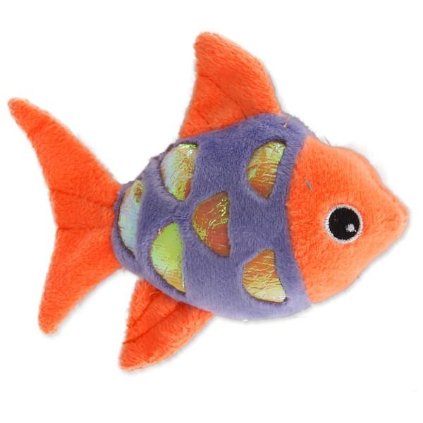 Magic Cat pliš riba z mačjo meto, mix - 10 cm