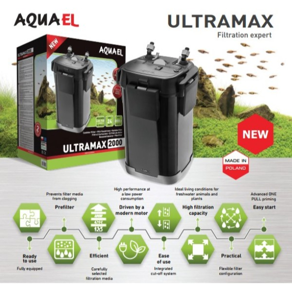 Aquael zunanji filter Ultramax 1500