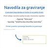 My Family identifikacijski obesek marjetica - GRAVIRANJE GRATIS!
