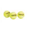 Camon teniška žoga piskajoča, 3 kos - 3,7 cm