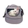 Nobby torba za živali 3 v 1 Happy Cat, siva - 44 x 32 x 32 cm