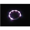 Nobby varnostna LED ovratnica Puppy, roza - do 45 cm