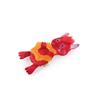 All For Paws plišasta igrača Monster z grizalom, rdeč - 24,5 cm