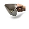 Moderna lopatica sito Scoop&Sift, siva
