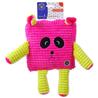 BeFun plišasta igrača Calypso kvadratnik, roza - 17,5 cm