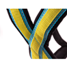 TrOP oprsnica Base Harness, rumeno modra - L
