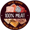 True Instinct posladki Cubes - 100% piščanec - 50 g