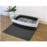 Nobby predpražnik za mačji WC, siv - 39 x 60 cm