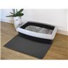 Nobby predpražnik za mačji WC, siv - 30 x 45 cm
