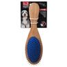 Dog Fantasy krtača ravne igle + žima - 23 cm