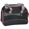 Pawise torba za pse, črno-rdeča - 41 x 22 x 30 cm