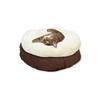 All For Paws ležišče za mačke Donut, rjava - 45 cm