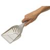 Moderna lopatica za pesek iz reciklirane plastike Handy Max, siva