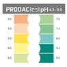 Prodac pH test za sladkovodne in morske akvarije - 4,5-9,0