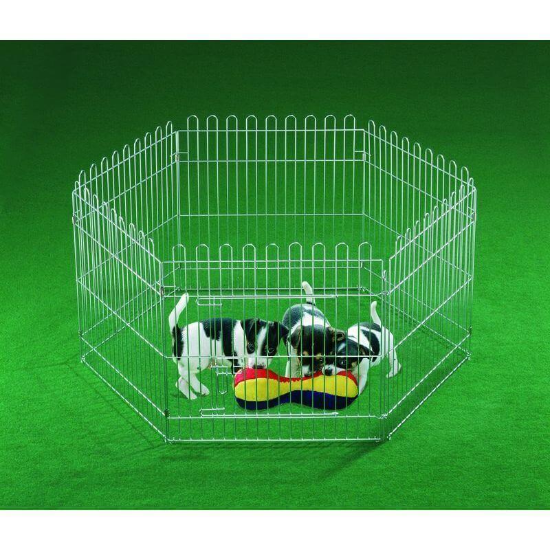 Nobby kovinska ograja za mladiče - 60 x 60 cm