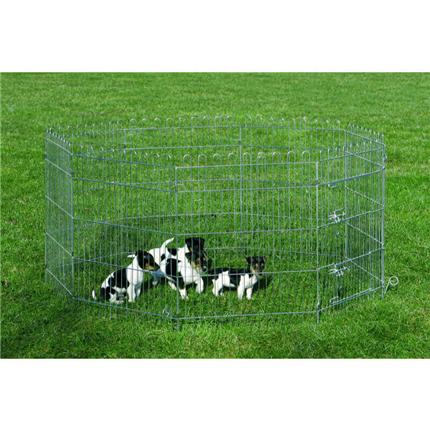 Nobby kovinska ograja za mladiče - 76 x 61 cm