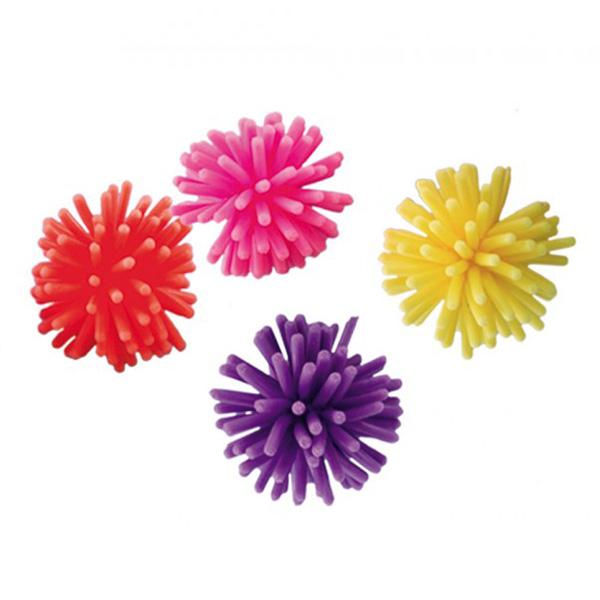 Nobby žoga ježek, 4 kos - 4 cm