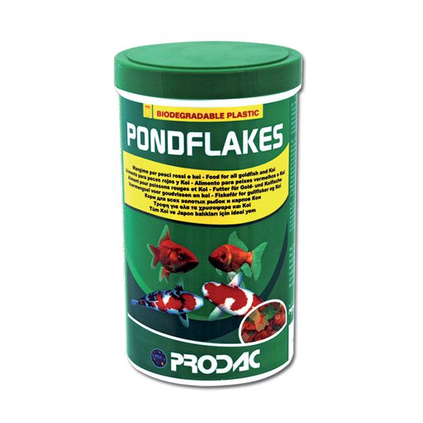 Prodac Pondflakes za majhne in srednje velike ribniške ribe - 1200 ml / 160 g