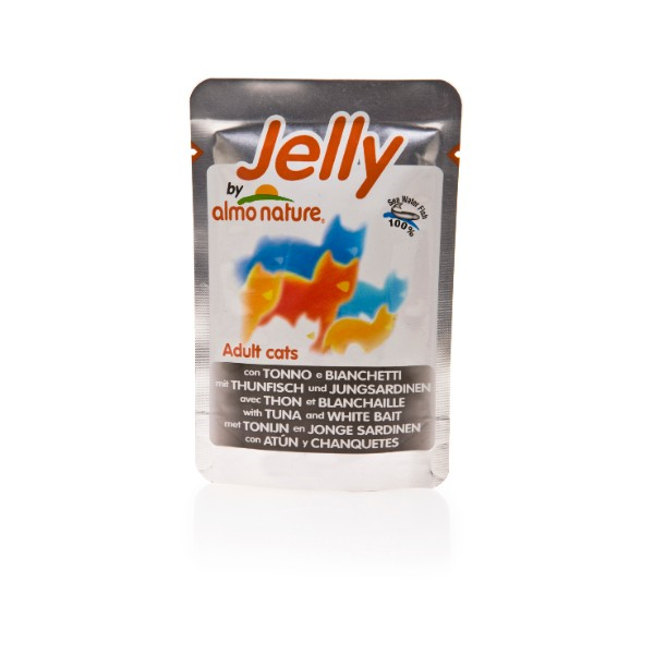 Almo Nature Jelly – tuna in bela riba– 70 g