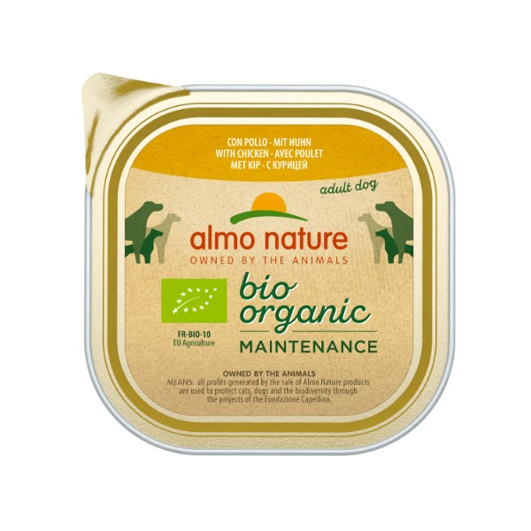 Almo Nature Bio Pate - piščanec - 300 g