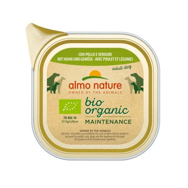 Almo Nature Bio Pate - piščanec in zelenjava - 100 g