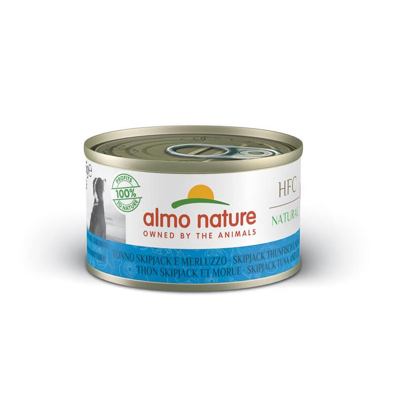 Almo Nature - črtasti tun - 95 g