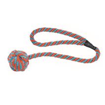 Nobby pletena, plavajoča žoga z vrvjo - 60 cm