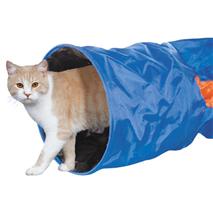 Nobby tunel za muce, modra - 115 x 30 cm