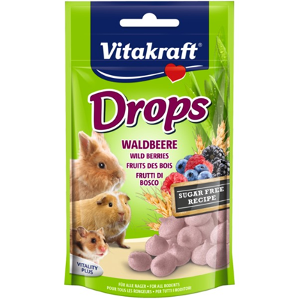 Vitakraft Drops gozdni sadeži in jogurt - 75 g