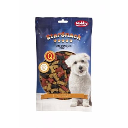 Nobby Starsnack piškoti v obliki mini kosti, mix – 200 g