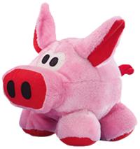 Nobby kruleči, plišasti pujs, roza - 25 cm