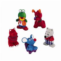 Nobby različne lateks igrače - 8-10 cm cm
