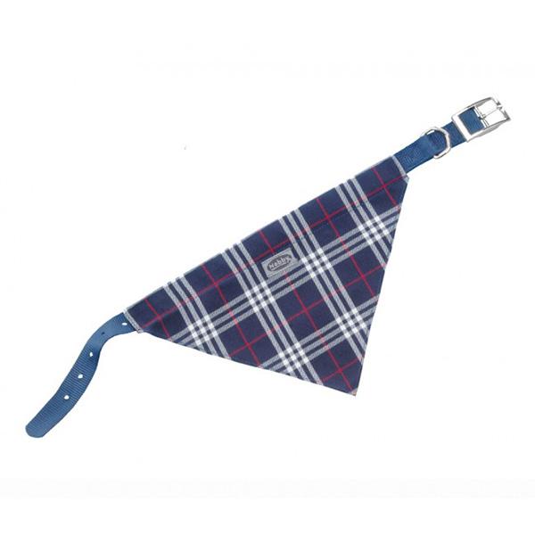 Nobby ovratnica z rutko 50 cm – modra