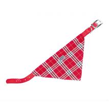 Nobby ovratnica z rutko 35 cm – rdeča