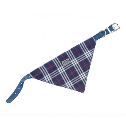 Nobby ovratnica z rutko 35 cm – modra