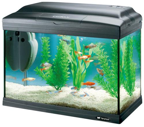 Ferpalst akvarij Cayman 40 Classic - črn 21l
