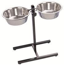 Nobby kovinska posoda in dvižno stojalo - 25 cm/2x2,80 ml
