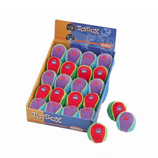 Nobby plišasta žoga s tačko - 6,5 cm