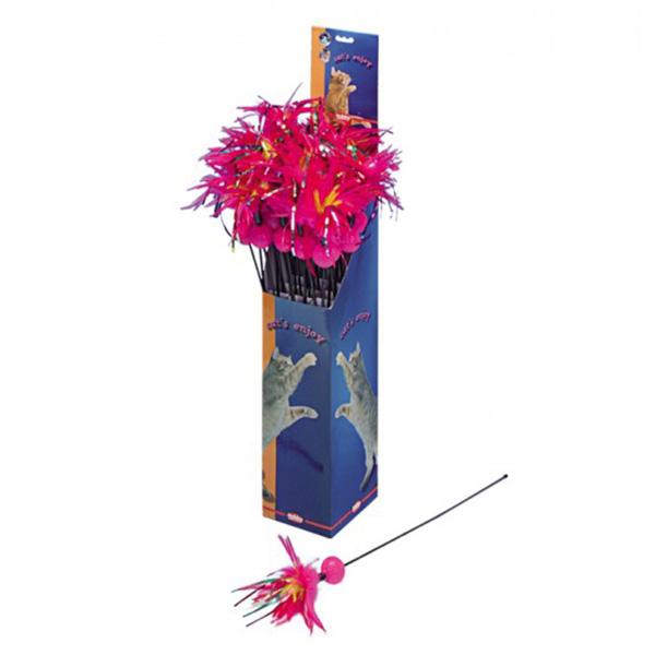 Nobby palica + perje + žoga - 60 cm